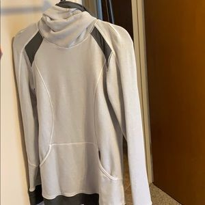 Lululemon hoodie with ponytail opening